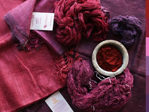Natural Dye of the Week: Lac