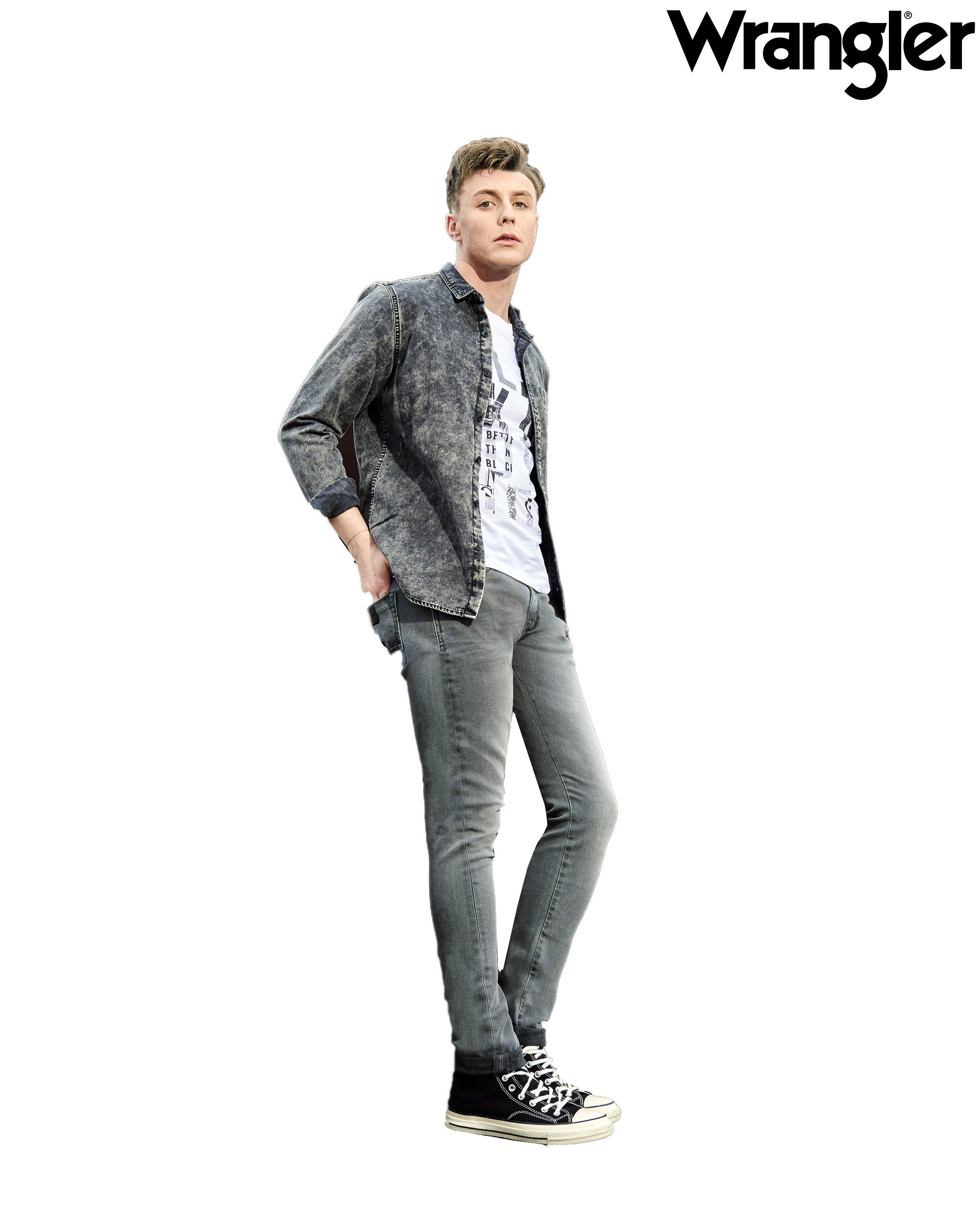 Redefine Style with Wrangler's Monochrome Collection