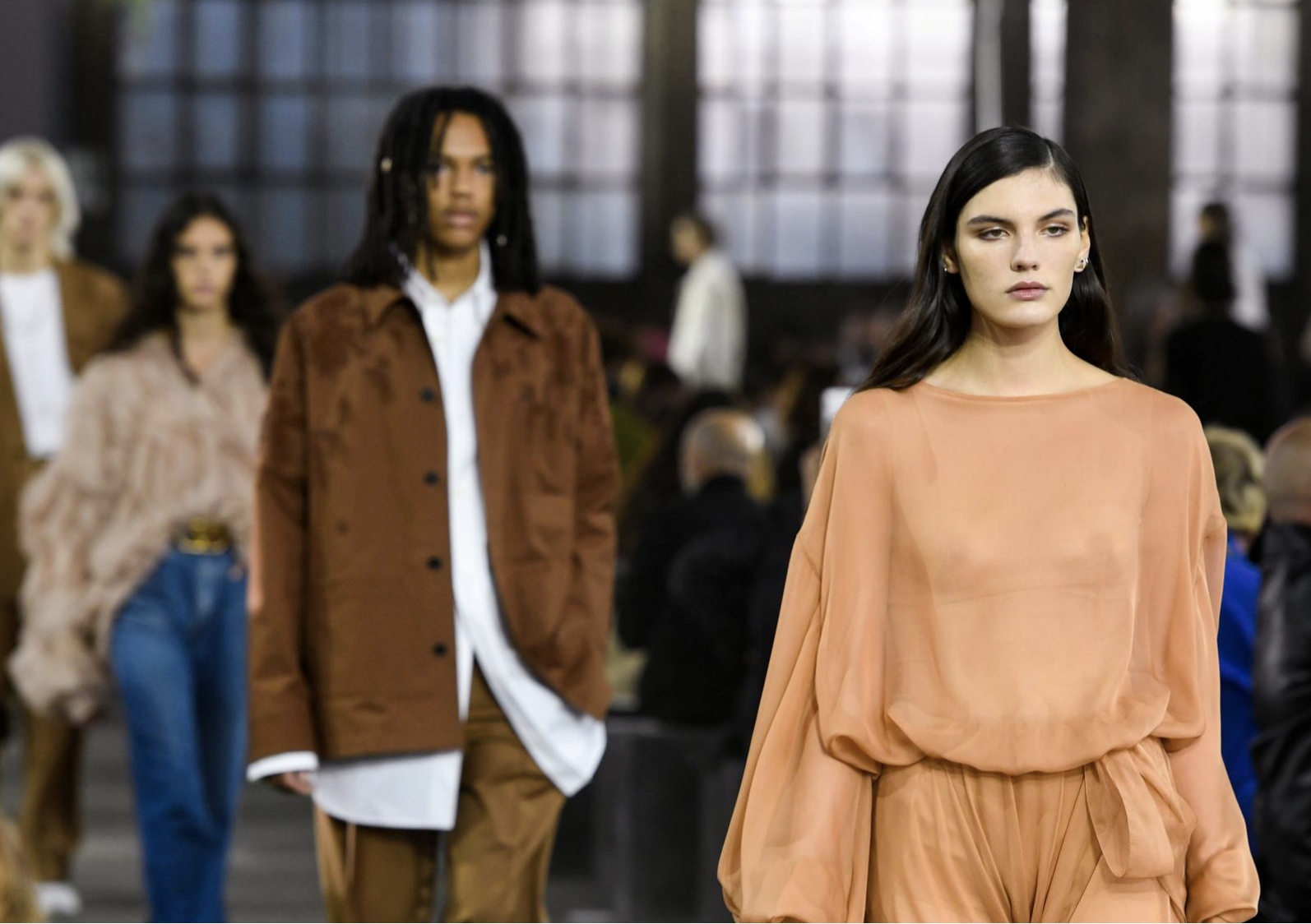 Valentino skips the Paris glamour for the outskirts of Milan