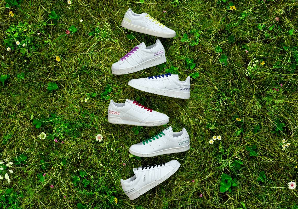 Adidas launches sustainable vegan Clean Classics sneakers