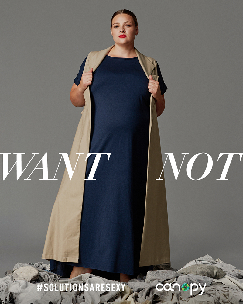 Canopy launches sustainable ads at LFW