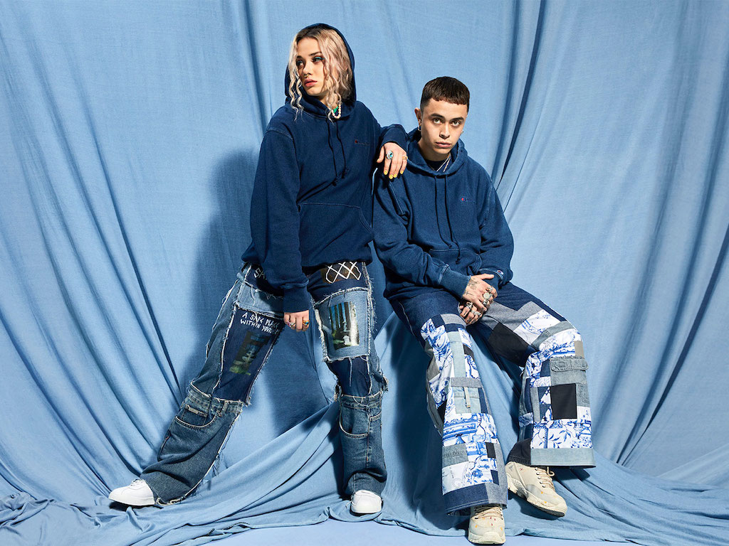 Champion Introduces Upcycled Streetwear Collection Dubbed Re:Bound