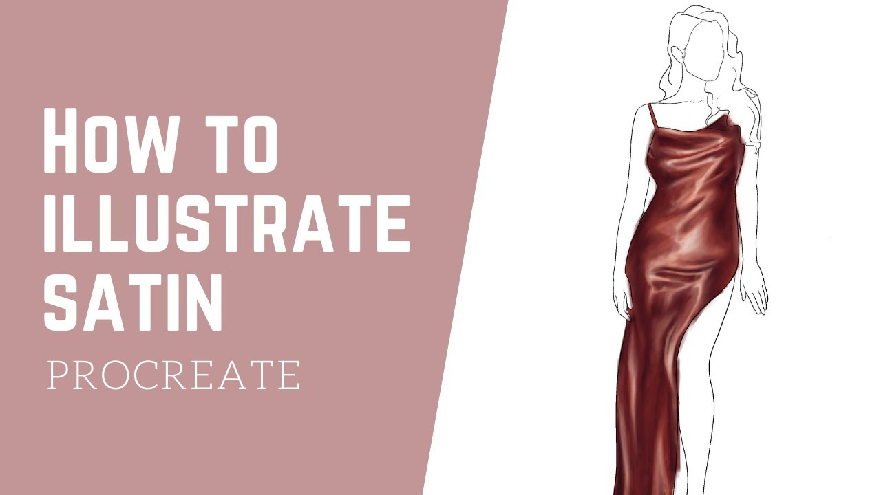 Video: How To Illustrate Satin on Procreate