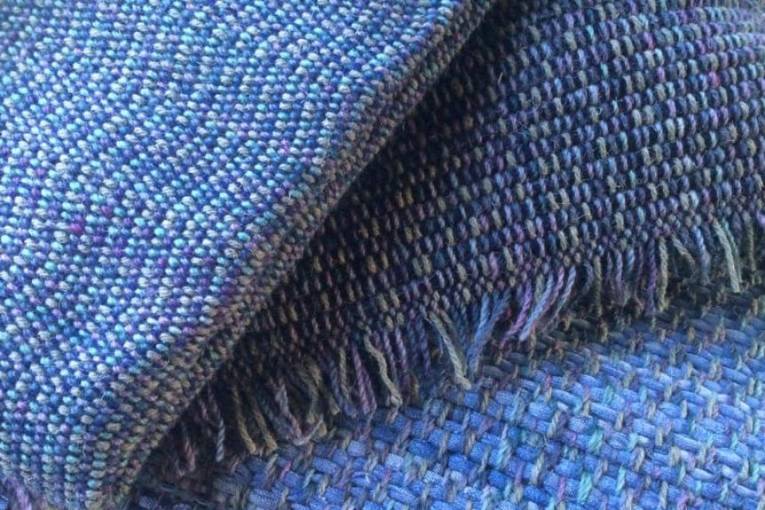 Rugs made of old denims