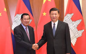 Cambodia, China sign free trade agreement.