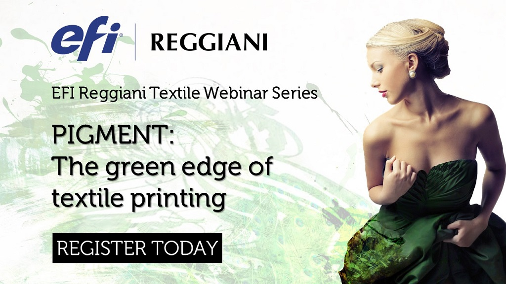 PIGMENT: The green edge of textile printing for a sustainable, fast and competitive process