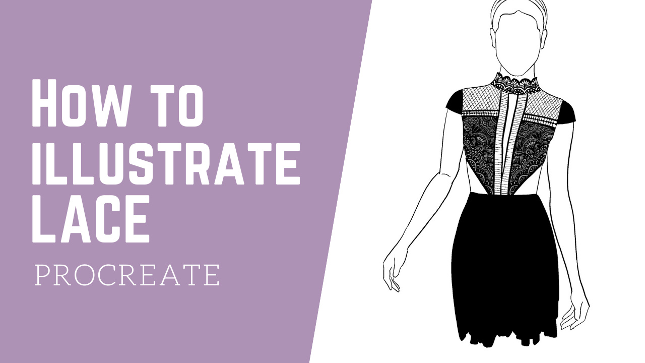 VIDEO: How To Illustrate Lace