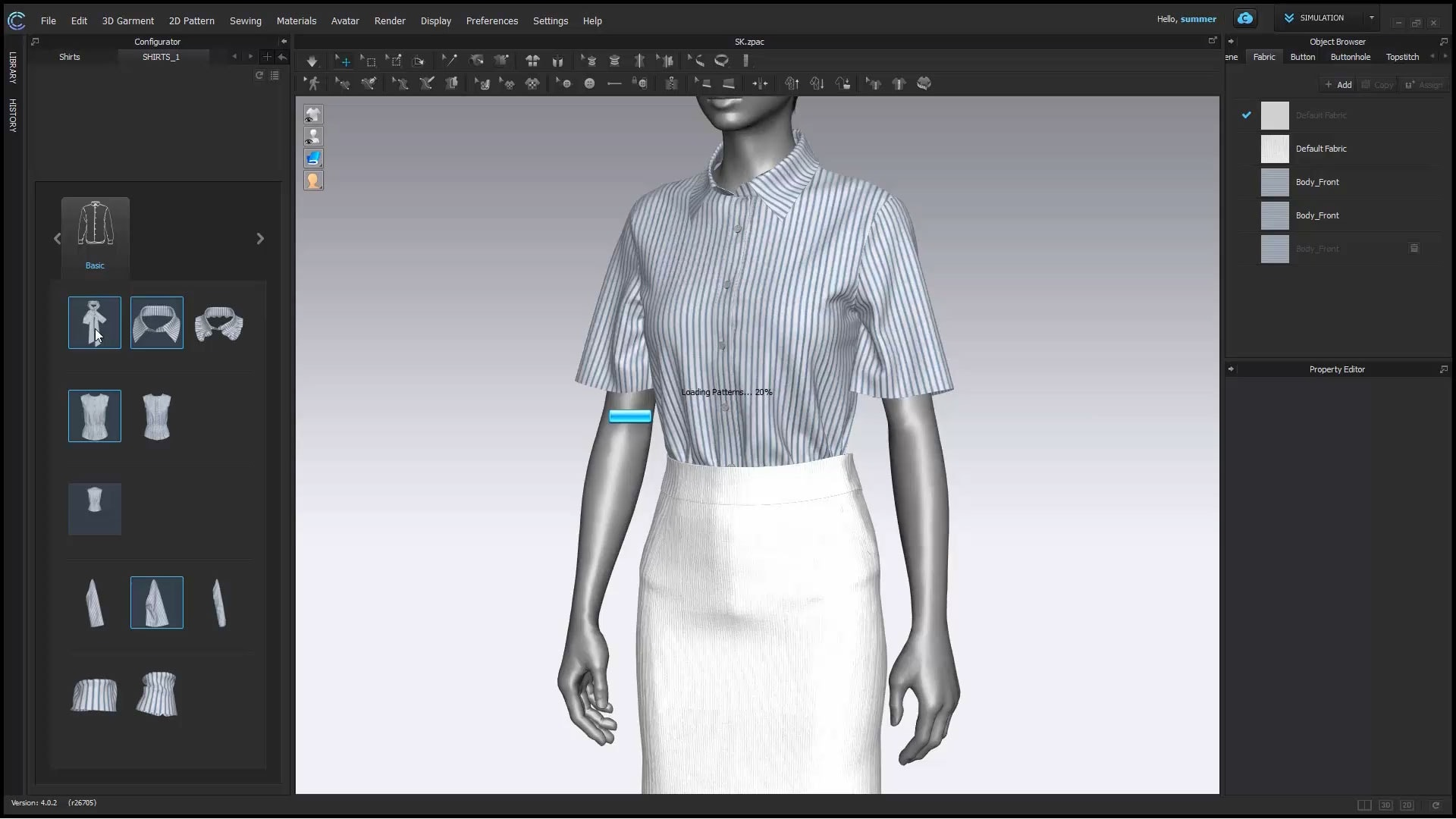 Chargeurs partners with CLO Virtual Fashion