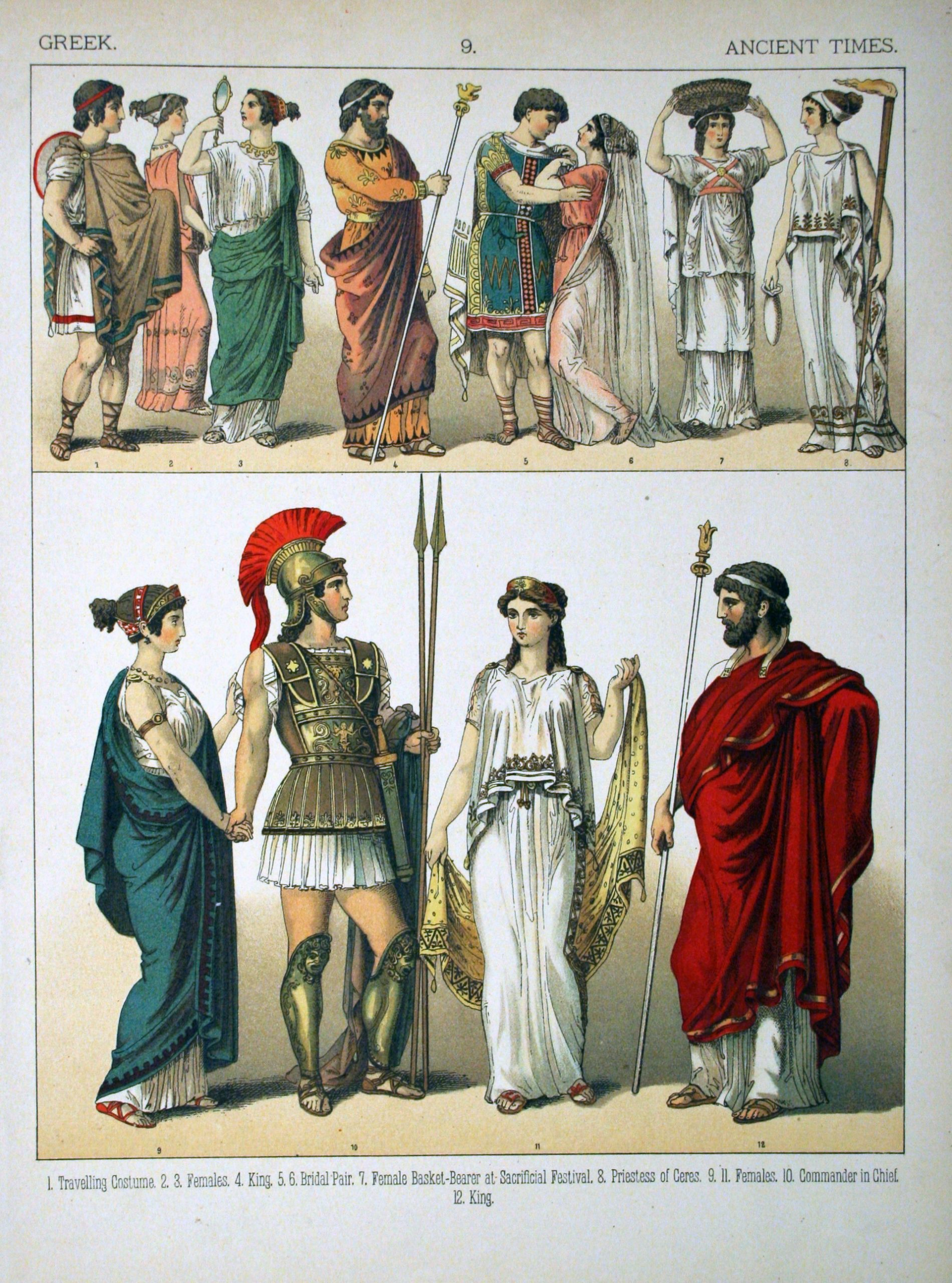 Famous Clothing of Ancient Greece