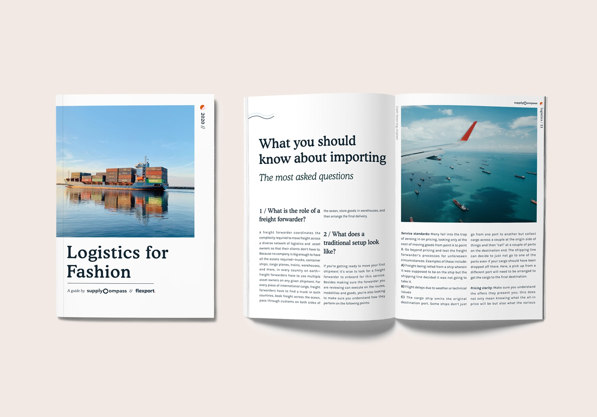 SUPPLYCOMPASS AND FLEXPORT RELEASE FASHION LOGISTICS GUIDE DEMYSTIFYING THE PRODUCTION-TO-DELIVERY PROCESS FOR THE FASHION INDUSTRY