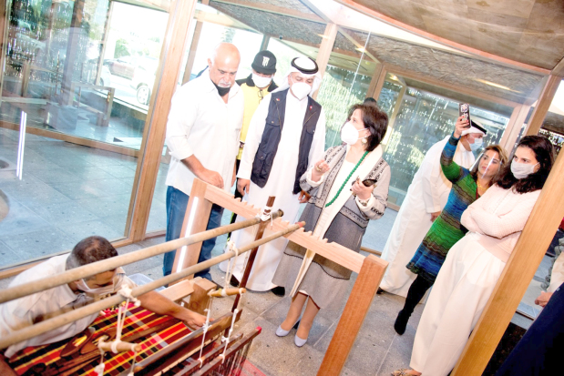 Traditional Textile Factory Inaugurated Bahrain