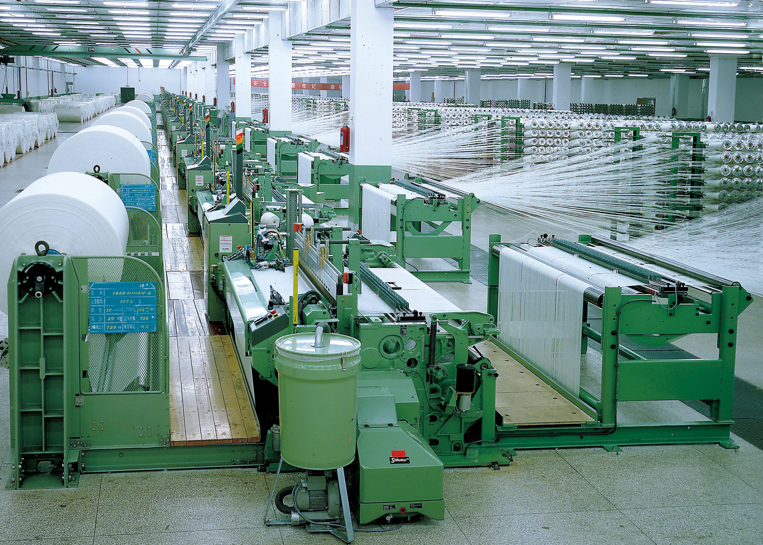 Textile policy will push machine manufacturing in India.