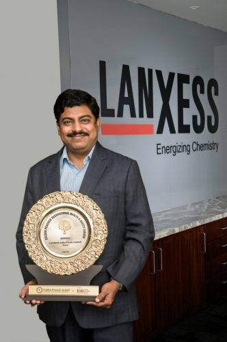 LANXESS India bags the prestigious Golden Peacock Occupational Health & Safety Award 2020
