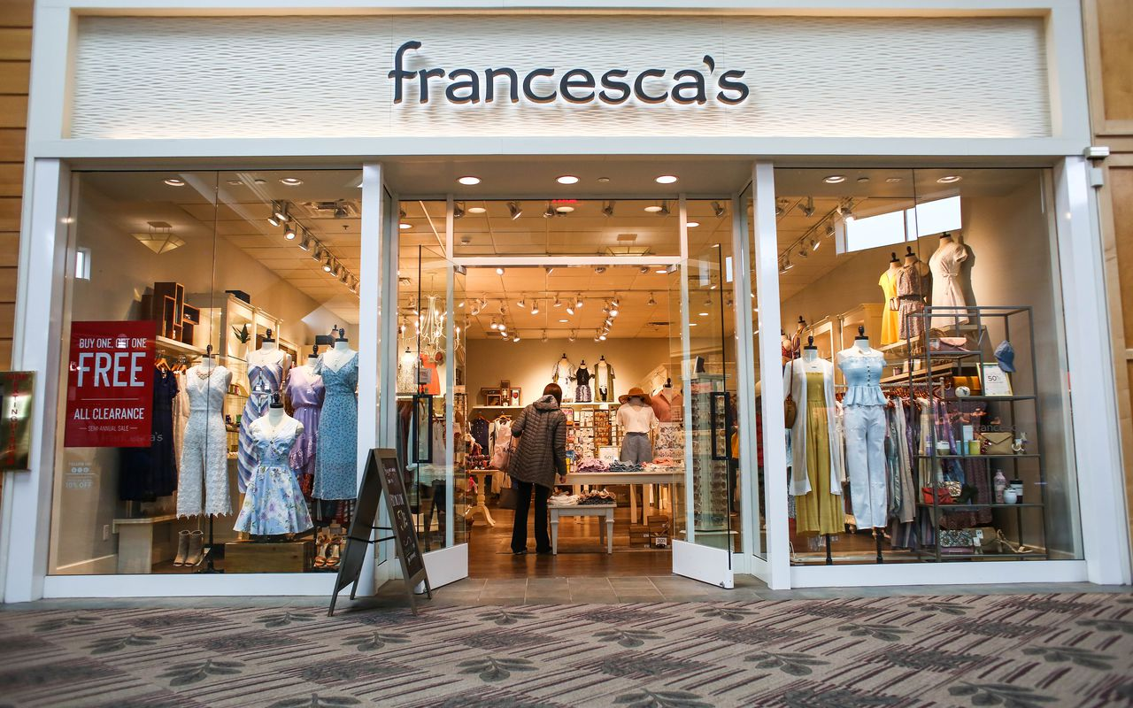 US garment chain Francesca's is planning to shut 97.more store