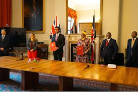 UK Signed Economic Partnership Agreement With Kenya