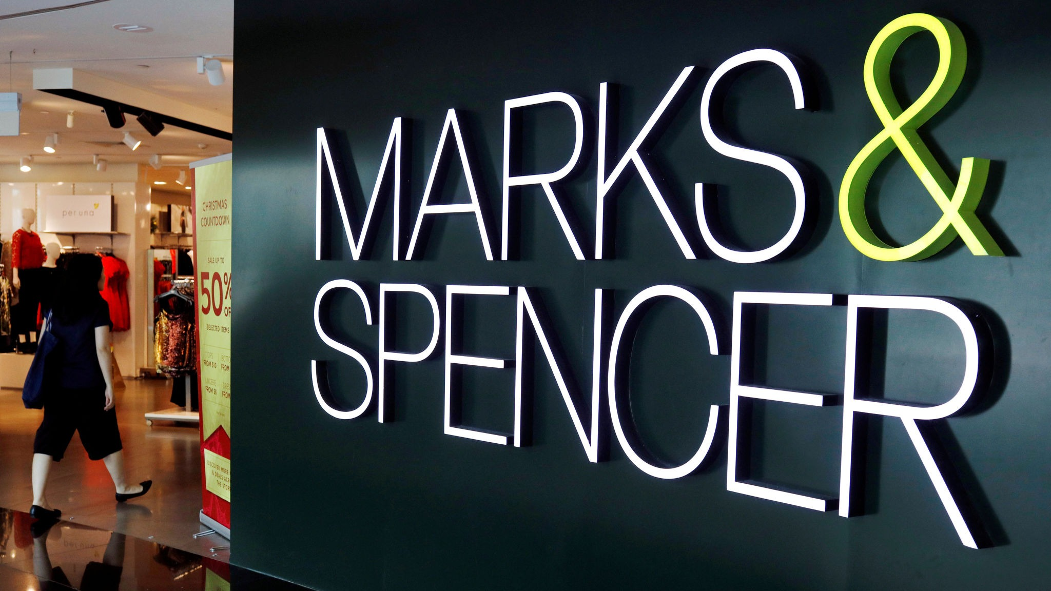 (AMD) sign LOW with  marks &spanser