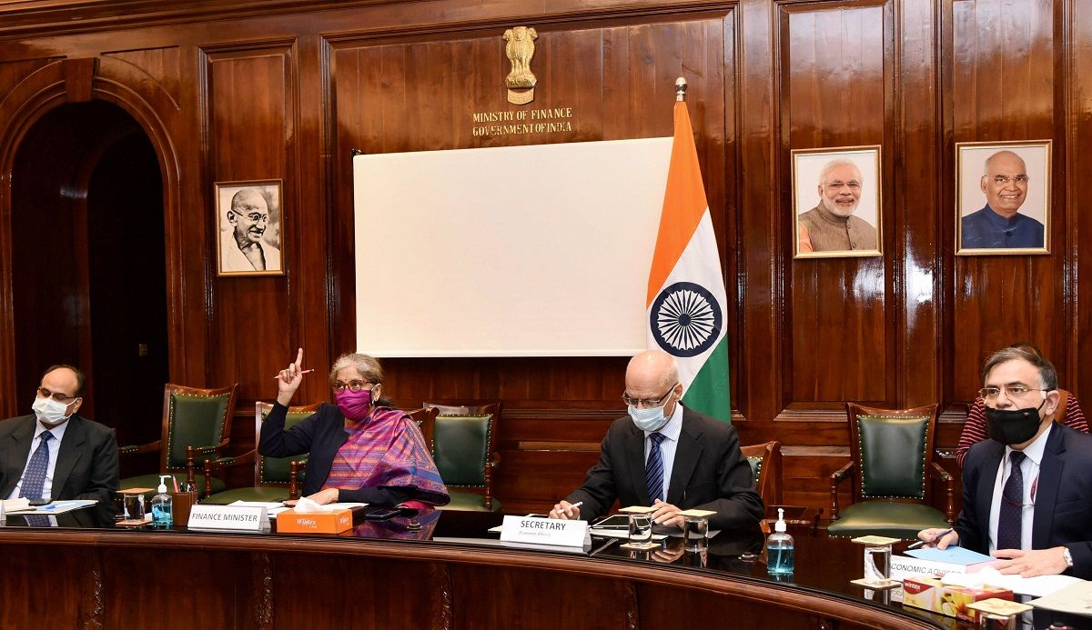 FM Nirmala Sitharaman holds first pre-budget talks with India Inc.