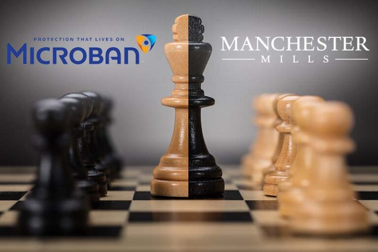 Microban & Manchester Mills to make antimicrobial textiles.