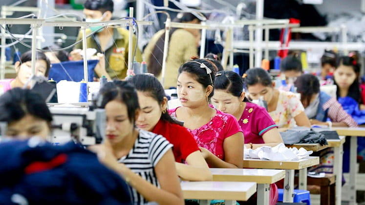 Chinese firm proposes building garment cluster in Myanmar.