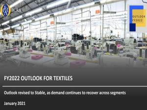 ICRA pandamic impact behind Indian textile sector