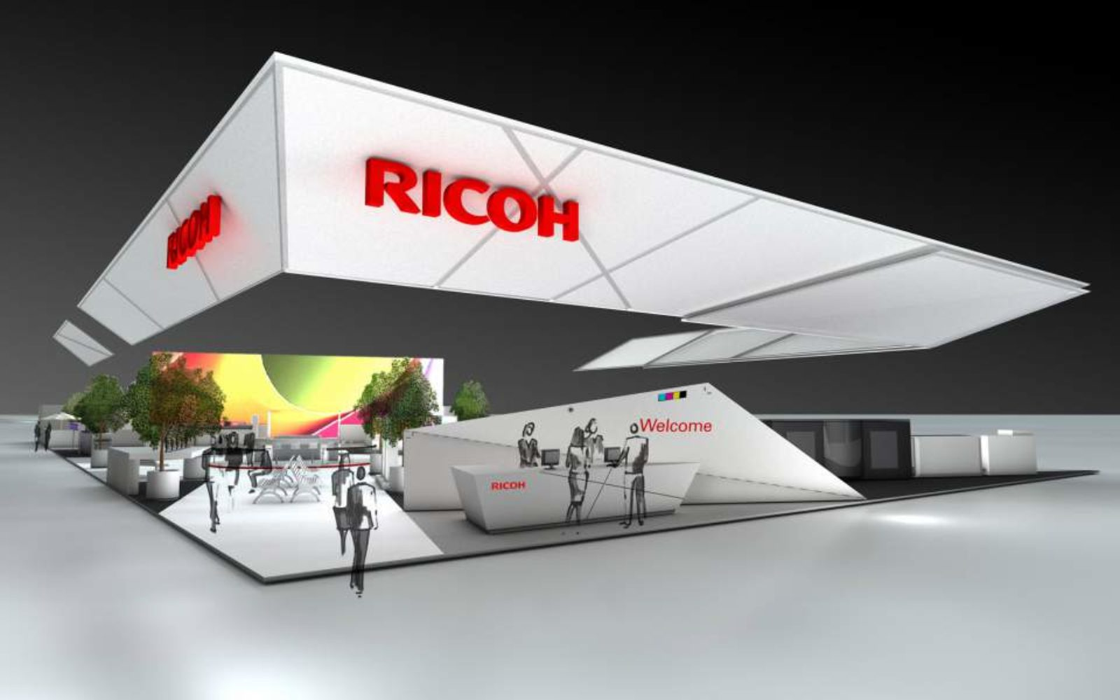Ricoh working with Farbenpunkt to reduce CO2 emissions
