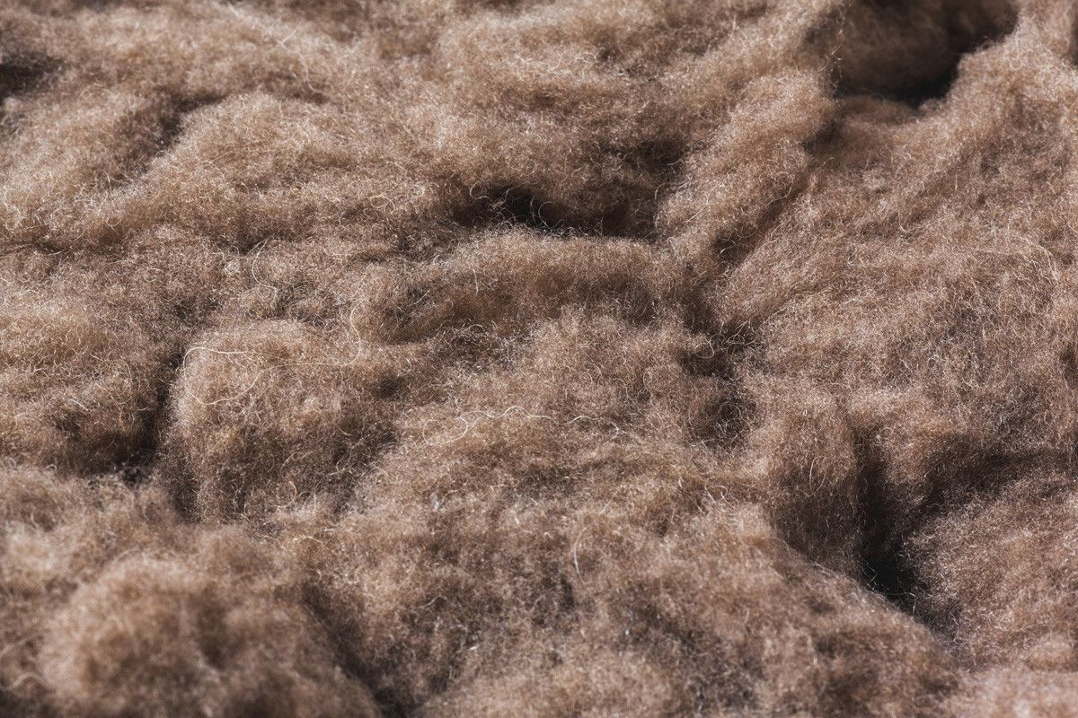 CLOTHING FROM BISON FIBRES.