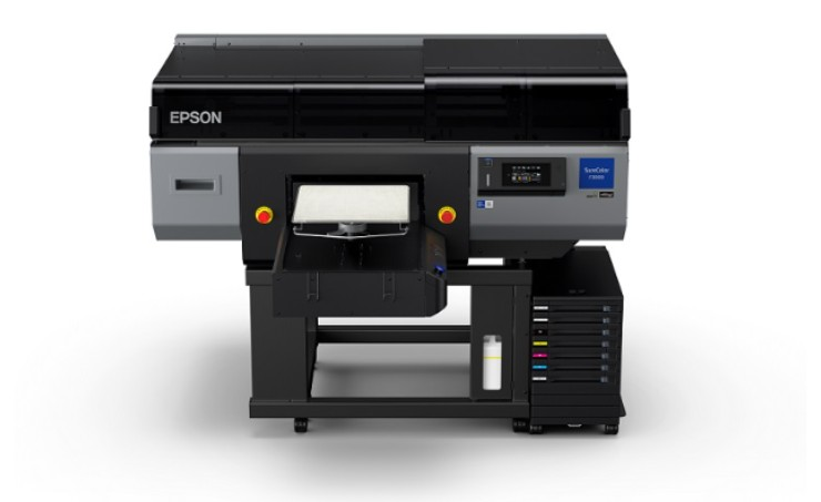 Epson introduces first ever industry level direct-to-garment printer.