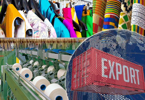 Export of Textiles and Apparels