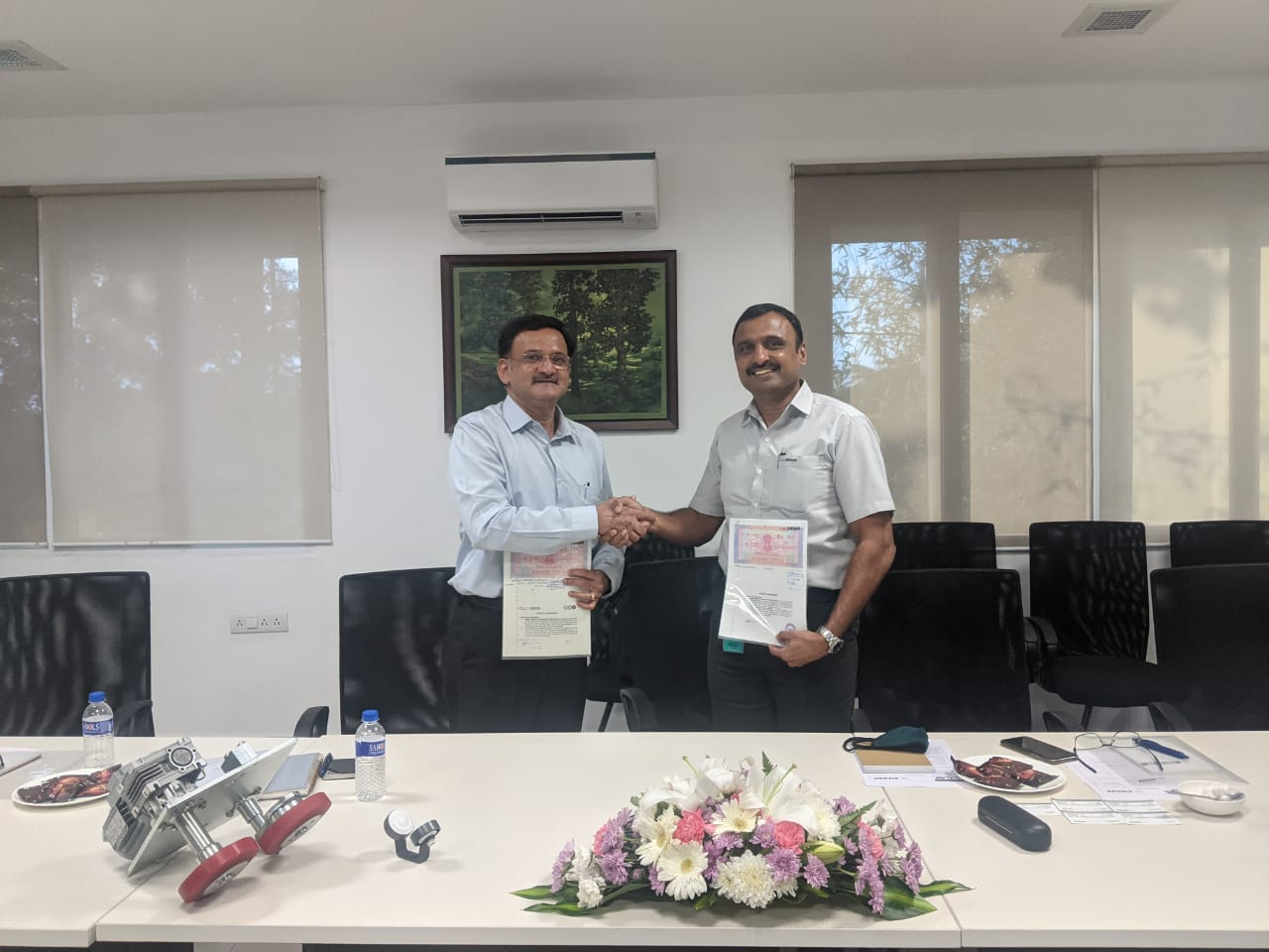 A.T.E. joins hands with Sieger Spintech, India