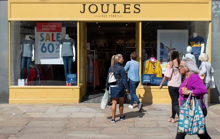 Joules Group,Premium lifestyle Brand (H1) FY21 Growth 45%