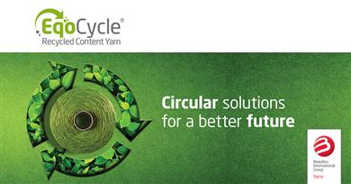 B.I.G. Yarns launches EqoCycle Yarns designed with circular economy benefits & high performance for the carpet industry