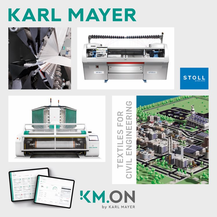 Hi-tech solutions for Asia's textile industry print offered by Karl Mayer