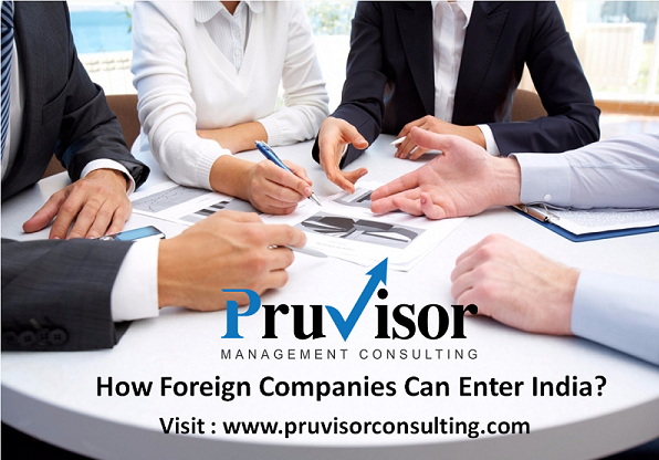 How Foreign Companies Can Enter in India! – PruVisor Management Consulting