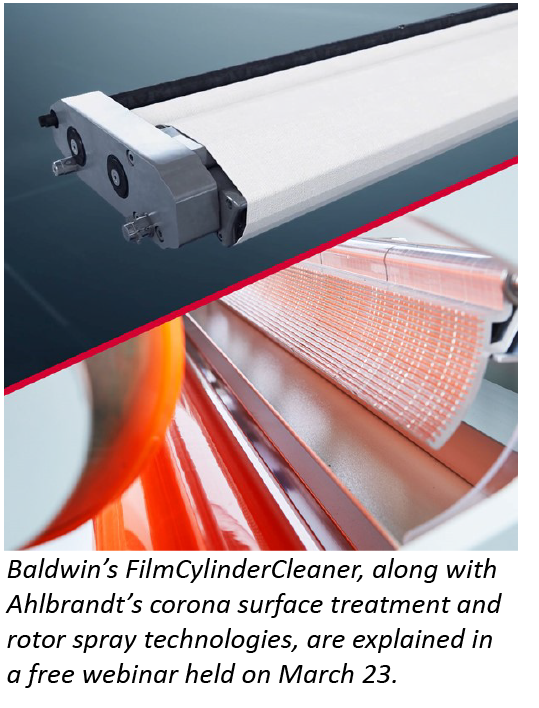 Baldwin hosts free webinar on how to improve safety, automation and productivity in film extrusion