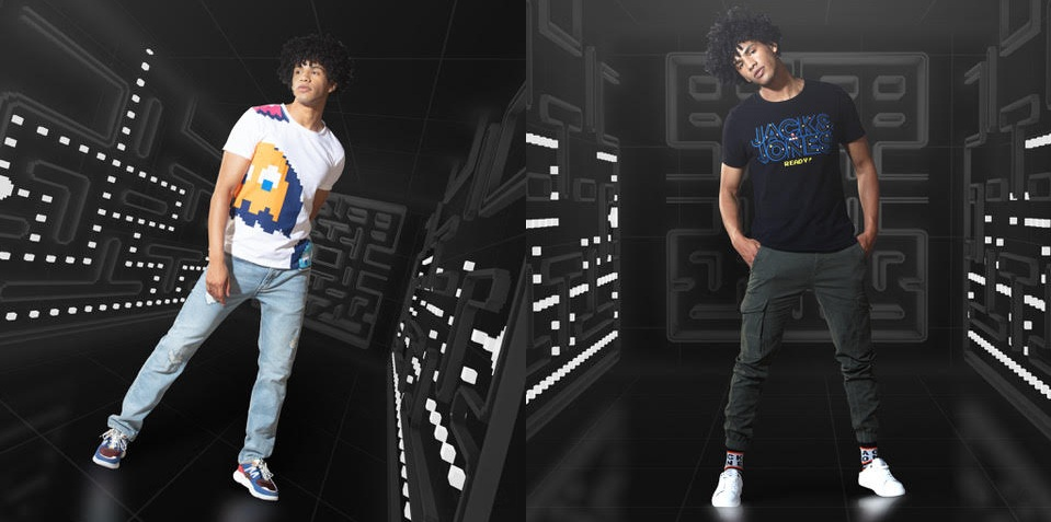 JACK&JONES takes you down memory lane with the PACMAN Collection!