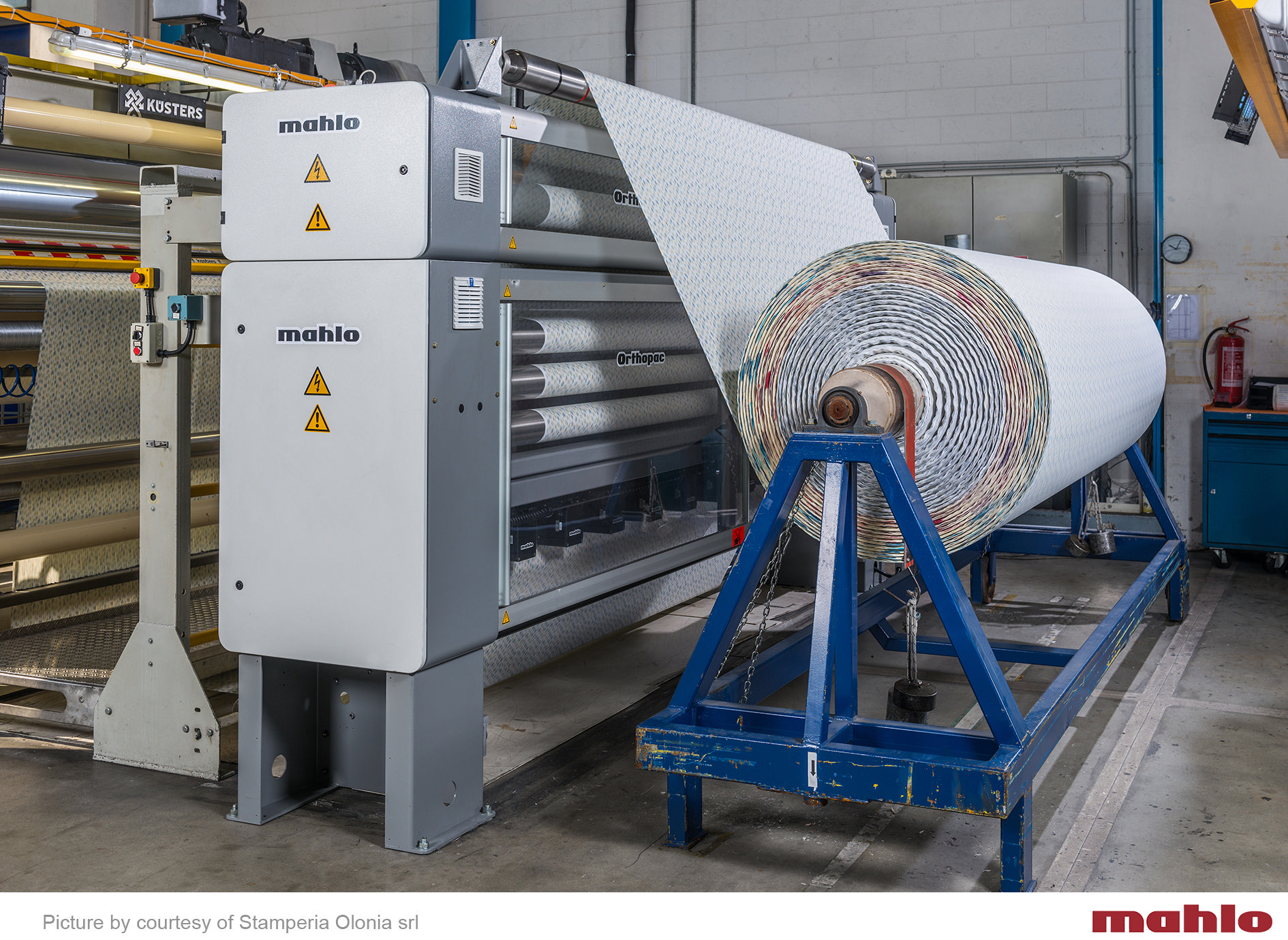 Smart solutions for textile finishing: Mahlo showcases at ITMA Asia