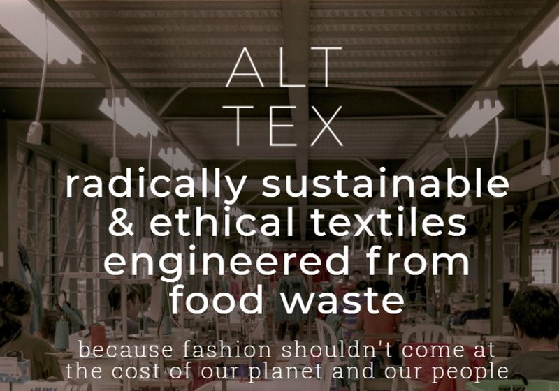 Support For A Start-Up That Makes Polyester From Food Waste