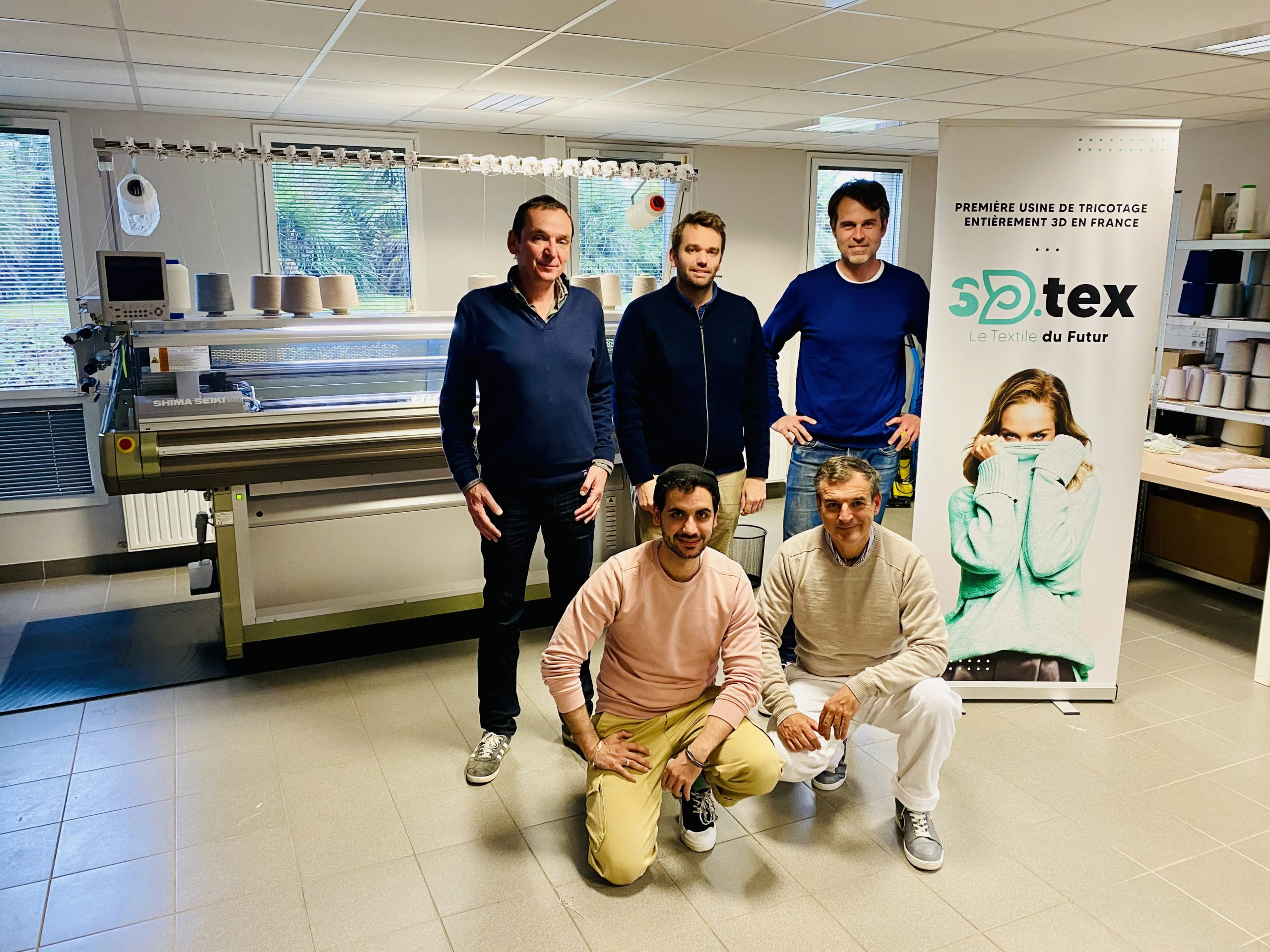 France gets its First 3D Knit Processing Plant With 3D-TEX