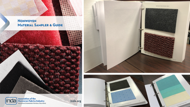 INDA Launches Updated Nonwoven Material Sampler & Guide with 124 Materials to Feel