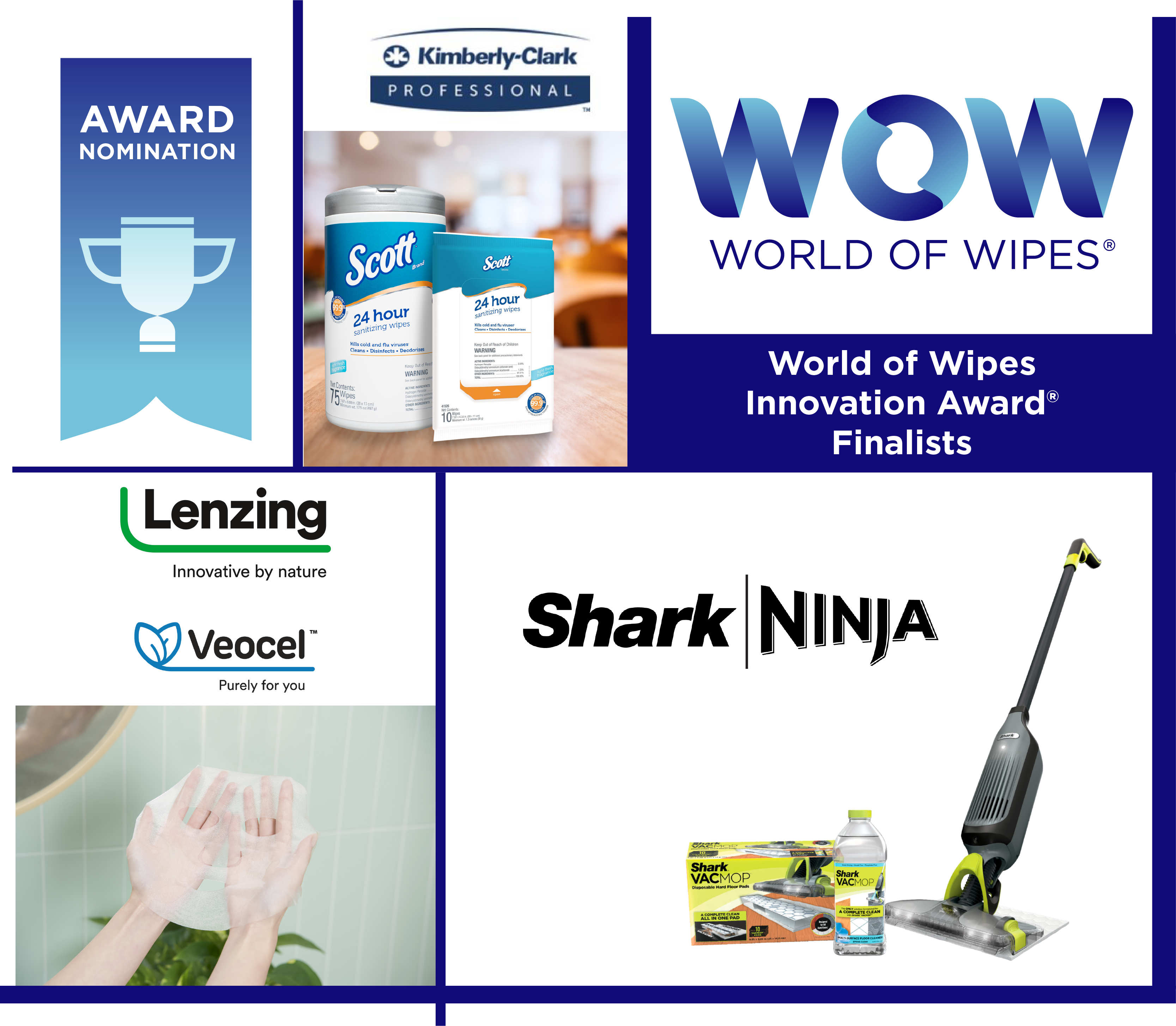 INDA Announces World of Wipes Innovation Award® Finalists