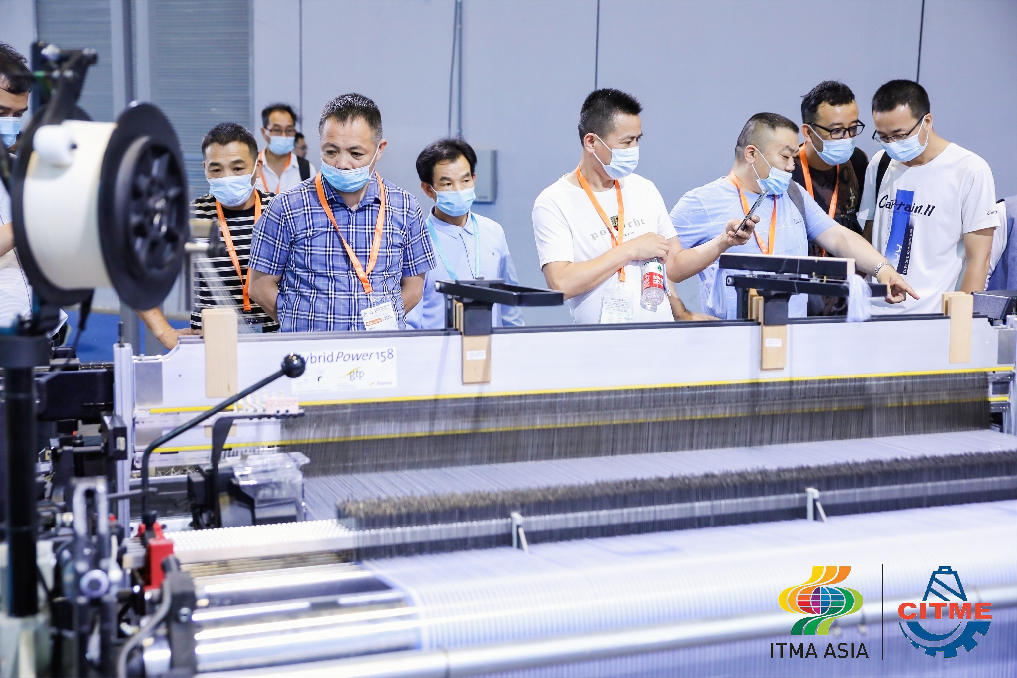Seventh ITMA ASIA + CITME combined show successfully opens in Shanghai