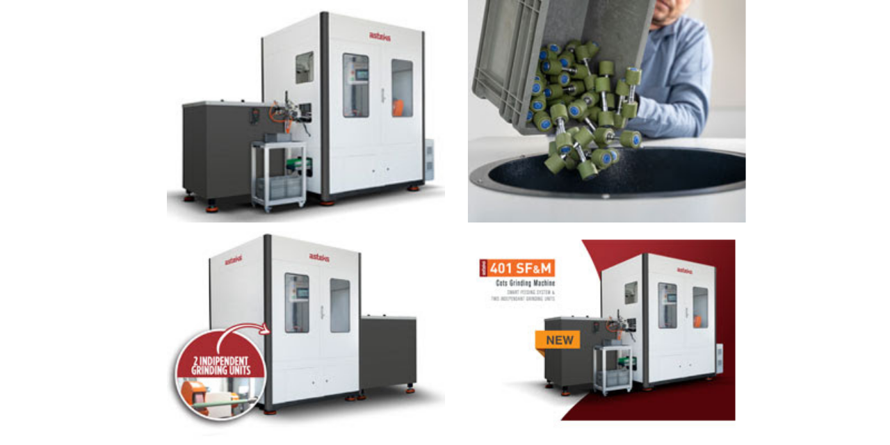 Asteks sets a new productivity threshold with the new '401-SF&M Cots Grinding Machine'