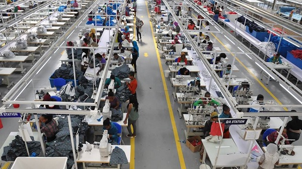 Cambodia's garment and textile industries are expected to be fully operational next year