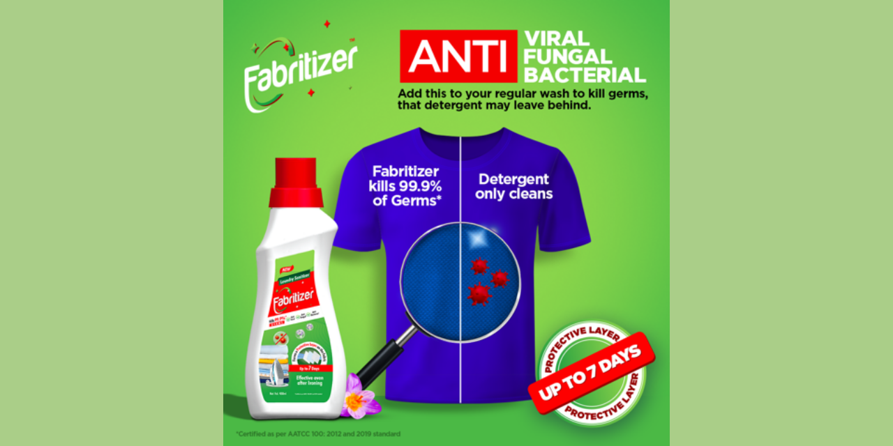 Cosmo Films Ltd. Launches Fabritizer – An After-Wash Laundry Sanitizer For 7 Days Protection From Germs and Viruses