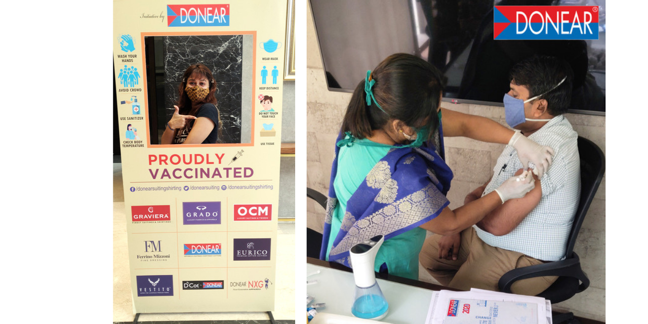 DONEAR INDUSTRIES LTD. ROLLS OUT VACCINATION DRIVE FOR ITS EMPLOYEES TAKING A STEP TOWARDS COMBATING COVID-19