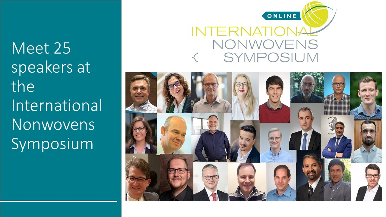 Online Nonwovens Symposium proves insightful and engaging Nearly 200 key stakeholders join premier gathering of nonwovens experts