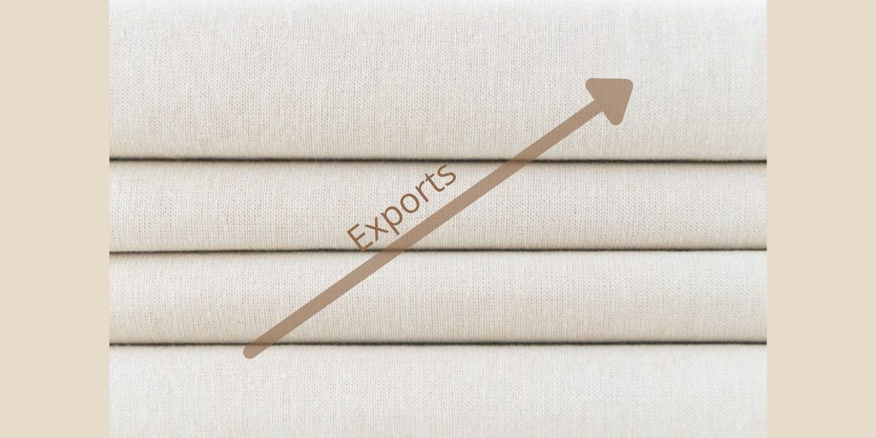 Exports of textiles are anticipated to grow by $5 billion in the next fiscal year