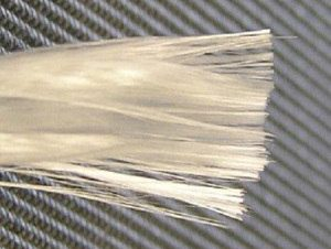 Extraction Of Glass Fibre