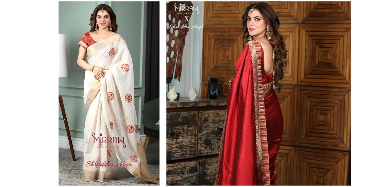 MIRRAW ANNOUNCES A COLLECTION OF ETHNIC AND STYLISH RANGE OF EMBROIDERED, PRINTED AND WOVEN RANGE OF SAREES