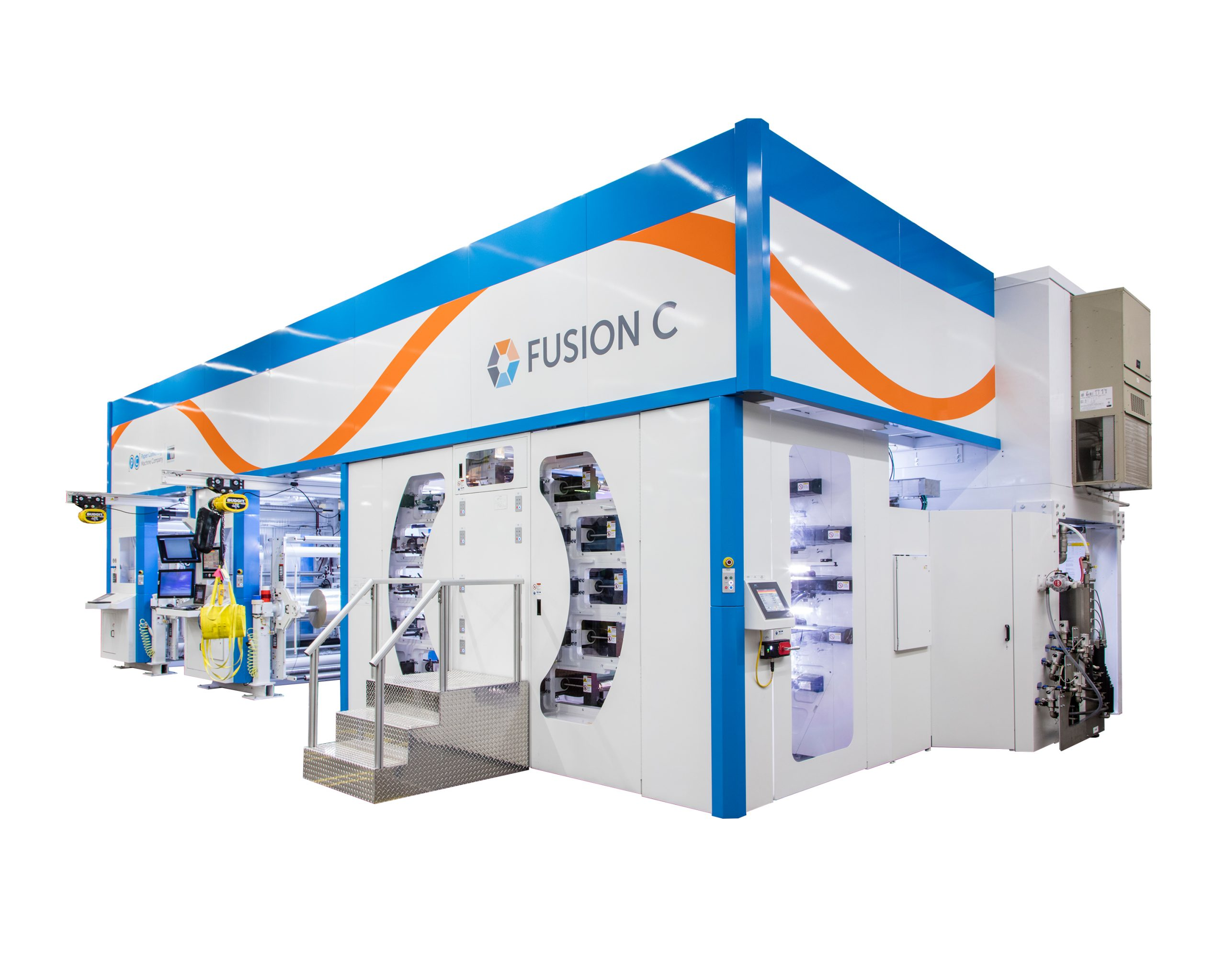 PCMC's Fusion C now equipped to run Gelflex-EB® inks at 400 meters per minute